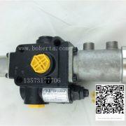Fuel tank distribution valve